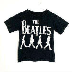 The Beatles kids 2T graphic black t-shirt